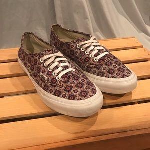 Vans Authentic Canvas Shoes Wm. Sz. 8 Men Sz. 6.5